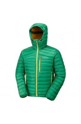 MONTANE FEATHERLITE DOWN JACKET MENS - JELLYBEAN GREEN