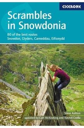 SCRAMBLES IN SNOWDONIA - 2017 - STEVE ASHTON