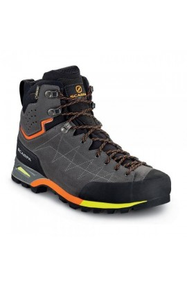 SCARPA ZODIAC PLUS GTX MENS - SHARK/ORANGE