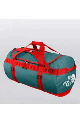 THE NORTH FACE BASE CAMP DUFFEL - L - STORM BLUE/FIREBRICK RED