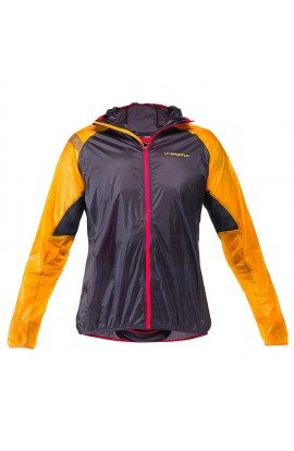 LA SPORTIVA BLIZZARD WINDBREAKER JACKET MENS - BLACK/YELLOW