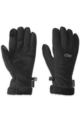 OUTDOOR RESEARCH WOMENS FUZZY SENSOR GLOVE - BLACK