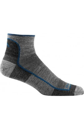 DARN TOUGH MENS 1/4 SOCK LIGHT - CHARCOAL (1715)