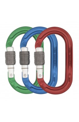 DMM ULTRA O OVAL SCREWGATE - COLOURED - 3 PACK