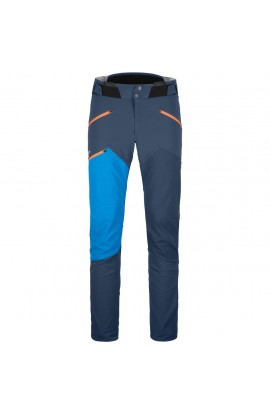 ORTOVOX WESTALPEN SOFTSHELL PANTS MENS - BLUE LAKE