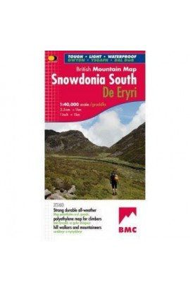 BMC SNOWDONIA SOUTH MOUNTAIN MAP HARVEY XT40