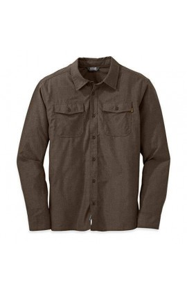 OUTDOOR RESEARCH GASTOWN L/S SHIRT - EARTH