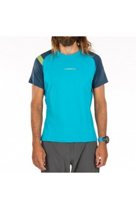 LA SPORTIVA MOTION T-SHIRT - TROPIC BLUE/OPAL
