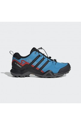 ADIDAS TERREX SWIFT R2 GTX MENS - SHOCK CYAN/CORE BLACK/ACTIVE RED