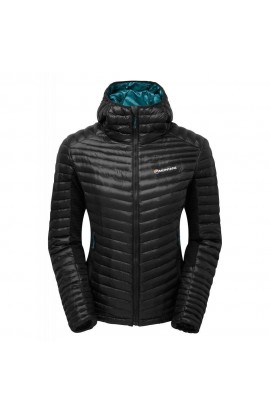 MONTANE WOMENS PHOENIX FLIGHT JACKET - BLACK