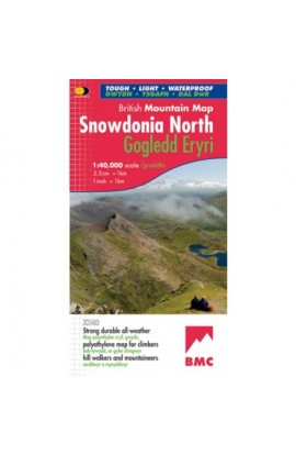 BMC SNOWDONIA NORTH MOUNTAIN MAP HARVEY XT40
