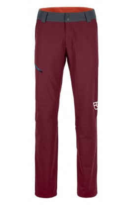 ORTOVOX PELMO PANT MENS - DARK BLOOD