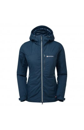 MONTANE WOMENS FLUXMATIC JACKET - NARWHAL BLUE