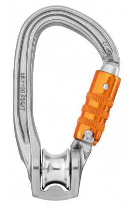 PETZL ROLLCLIP Z PULLEY - TRIACT-LOCK
