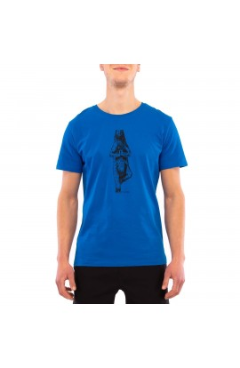 3RD ROCK YOGIBEAR TEE MENS - ROYAL BLUE