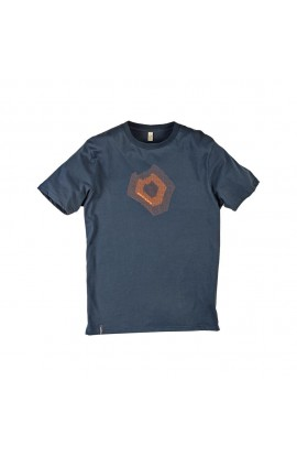 DMM TORQUE TEE MENS - DENIM BLUE/ORANGE