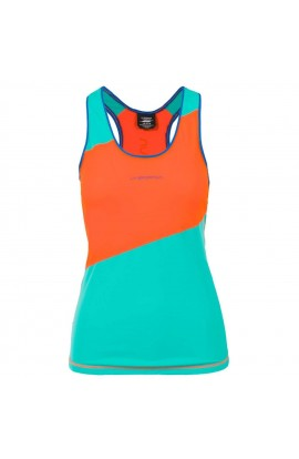 LA SPORTIVA DRIFT TANK - LILY ORANGE/AQUA