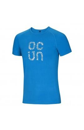 OCUN BAMBOO T GEAR MENS - VIVID BLUE