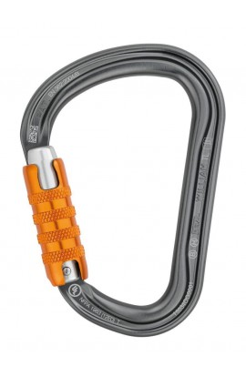 PETZL WILLIAM TRIACT LOCK - GRAY