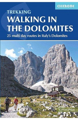 WALKING IN THE DOLOMITES - CICERONE
