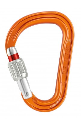PETZL ATTACHE SCREW-LOCK - ORANGE