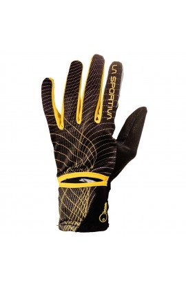 LA SPORTIVA TRAIL GLOVE - BLACK/YELLOW