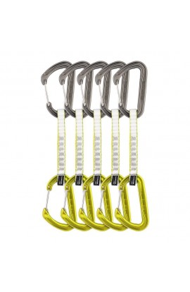 DMM CHIMERA QUICKDRAW - 12CM - LIME - 5 PACK