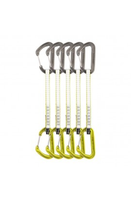 DMM CHIMERA QUICKDRAW - 18CM - LIME - 5 PACK