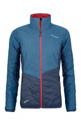 ORTOVOX DUFOUR JACKET WOMENS - BLUE SEA