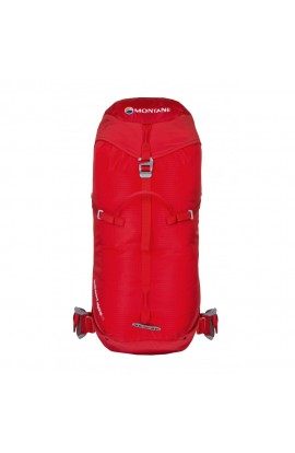 MONTANE FEATHERLITE ALPINE 35 BACKPACK - M/L - FLAG RED