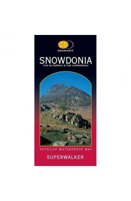 HARVEY SNOWDONIA GLYDERAU 1:25000 MAP