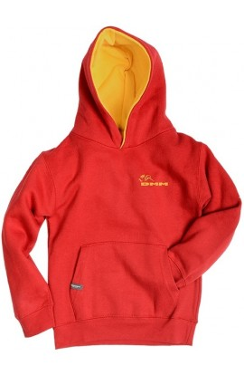 DMM HOODY KIDS - RED/YELLOW