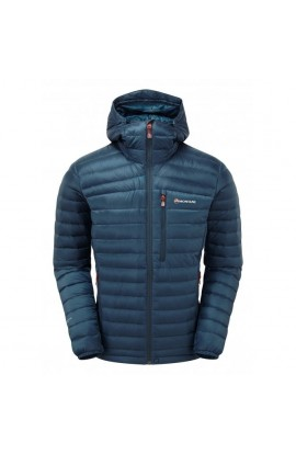 MONTANE FEATHERLITE DOWN JACKET MENS - NARWHAL BLUE