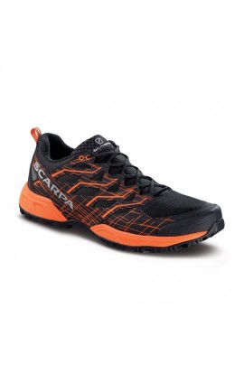 SCARPA NEUTRON 2 MENS - BLACK/ORANGE FLUO