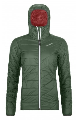 ORTOVOX PIZ BERNINA JACKET WOMENS - GREEN FOREST