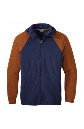 OUTDOOR RESEARCH TRAIL MIX JACKET MENS - S - TWILIGHT/UMBER
